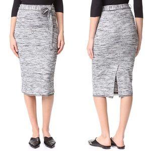 Splendid Space Dye Rib Skirt Size Small